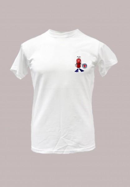 T-Shirt -Flossy-, für Kinder und Jugendliche weiss