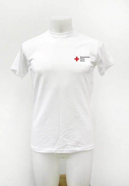 T-Shirt weiss digital